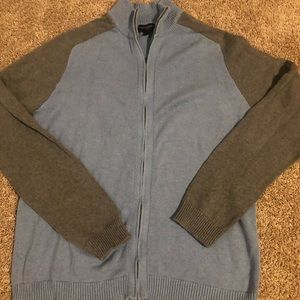 Banana republic zip up cardigan sweater